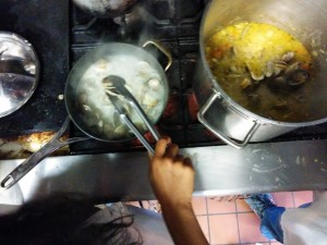 Q2 Wk4: The joys of making fresh clam chowder