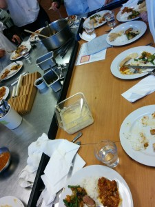Q2 Wk7: Our last cooking  and discussion staff meal style